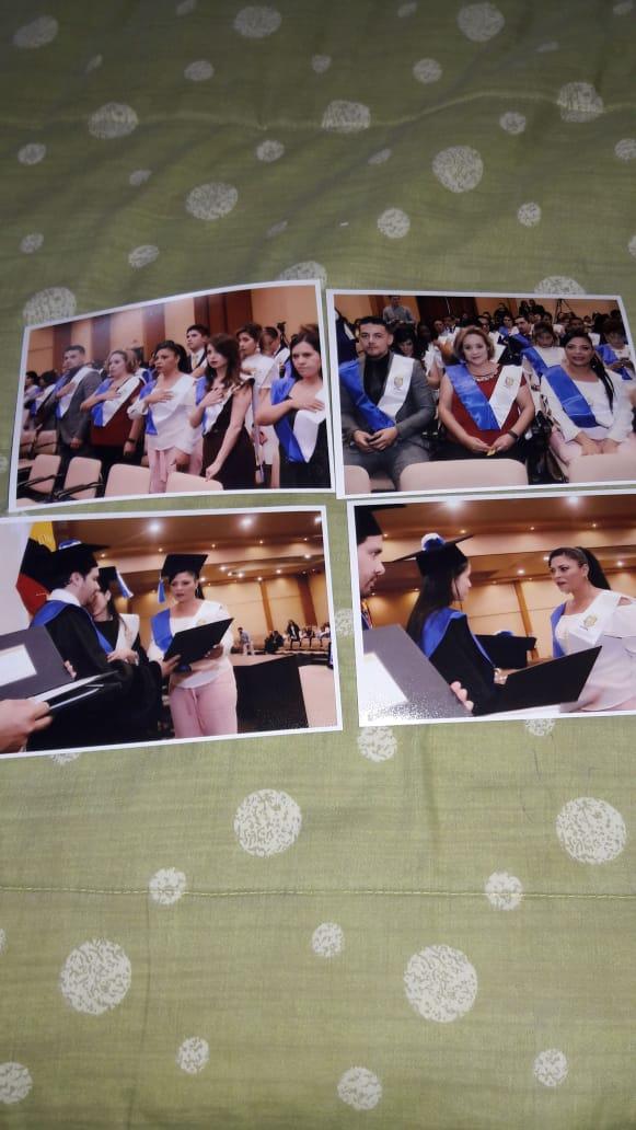fotos graduaciòn Carola